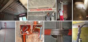 标准的佛山装修设计公司都会告诉你:水电工程需要的齐全材料!