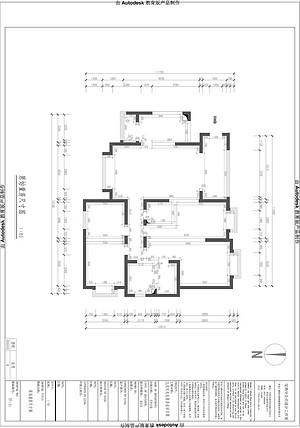 天玺台 现代简约风格  户型图设计分析点评介绍