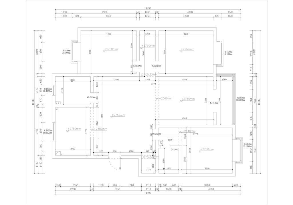 锡星苑  现代简约  160平米装修设计理念