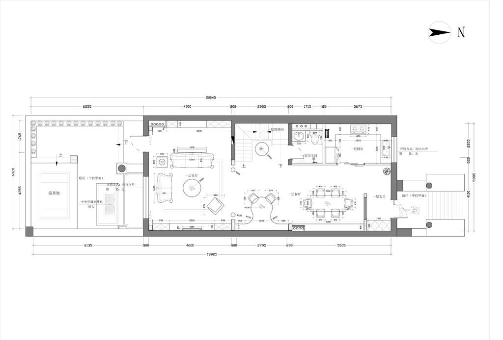 河北三盛国际-欧式-281.4平米装修设计理念