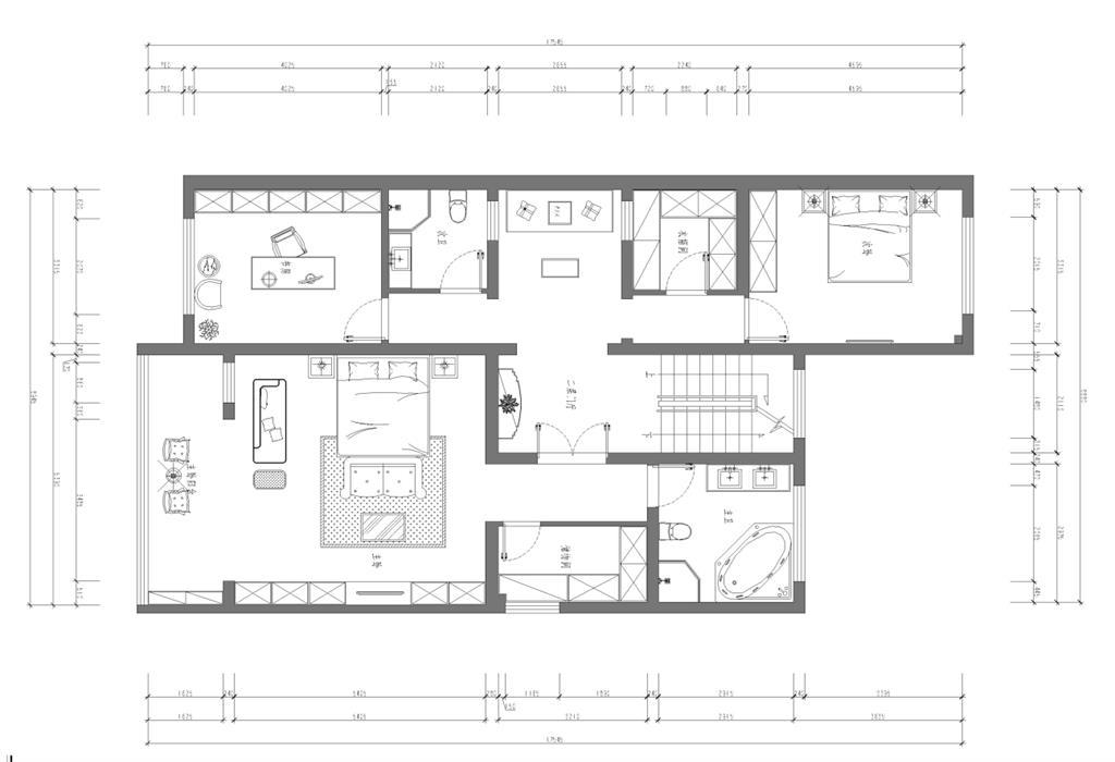 龍灣別墅 500平 新中式裝修設計理念