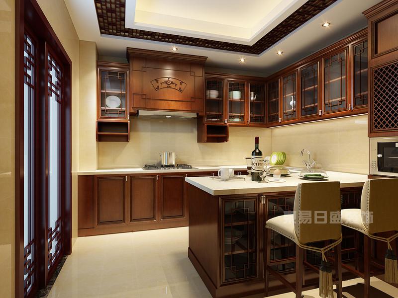 中式/欧式/美式/现代/开放式家庭厨房装修效果图