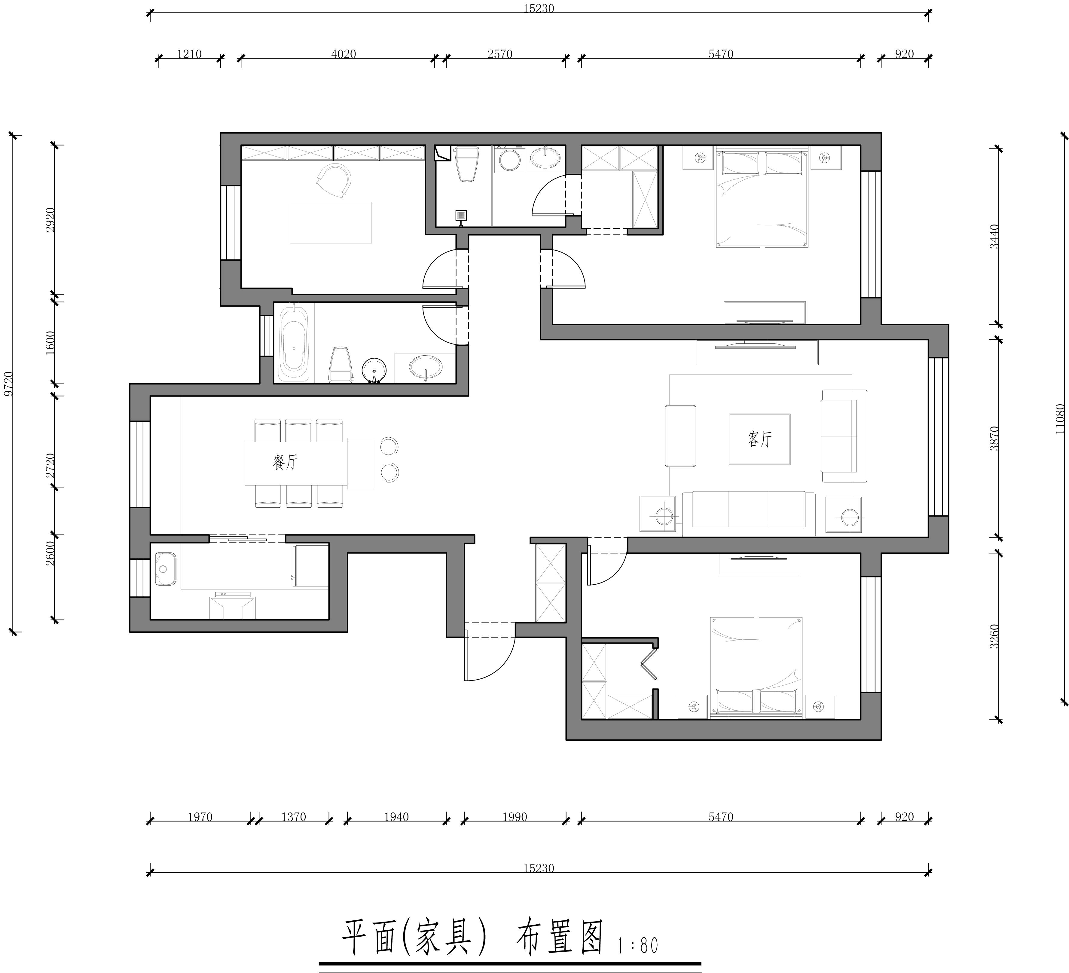青云天下-简欧-160平装修设计理念
