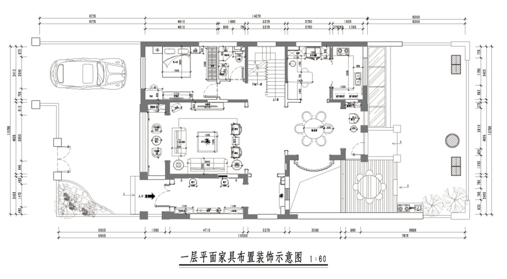纯水岸280㎡-新中式装修设计理念
