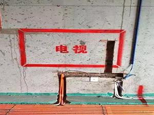 东易日盛六步放线法确保工程质量!