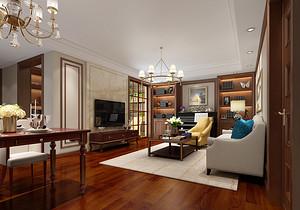 小户型新古典装修设计图,古典文化造就温暖居