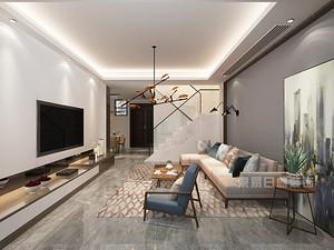 深圳125平米现代风格装修样板间,适合精致的你