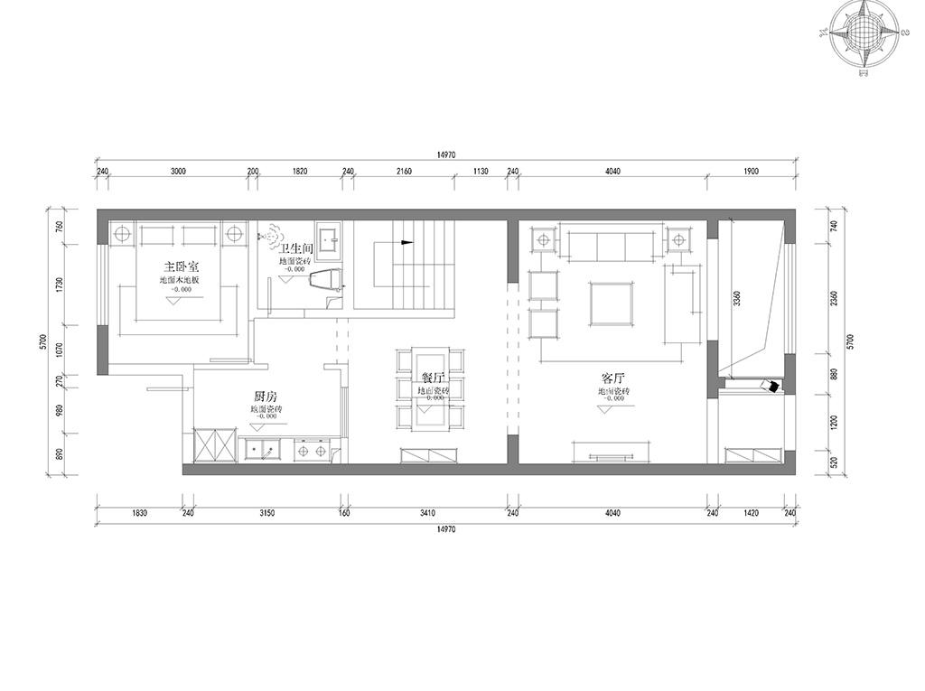 湖海塘庄园现代欧式风格430m2案例装修设计理念