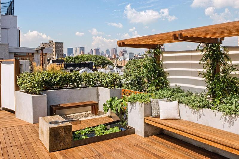 阳台花园怎么设计,阳台花园布置技巧分享-东易日盛家装公司