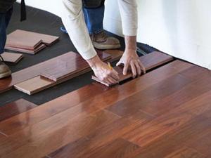 三种常用的木地板安装方法优缺点分析