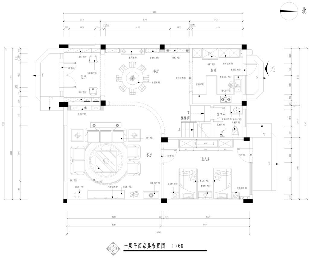 碧桂园311平米新古典法式别墅装修效果图装修设计理念