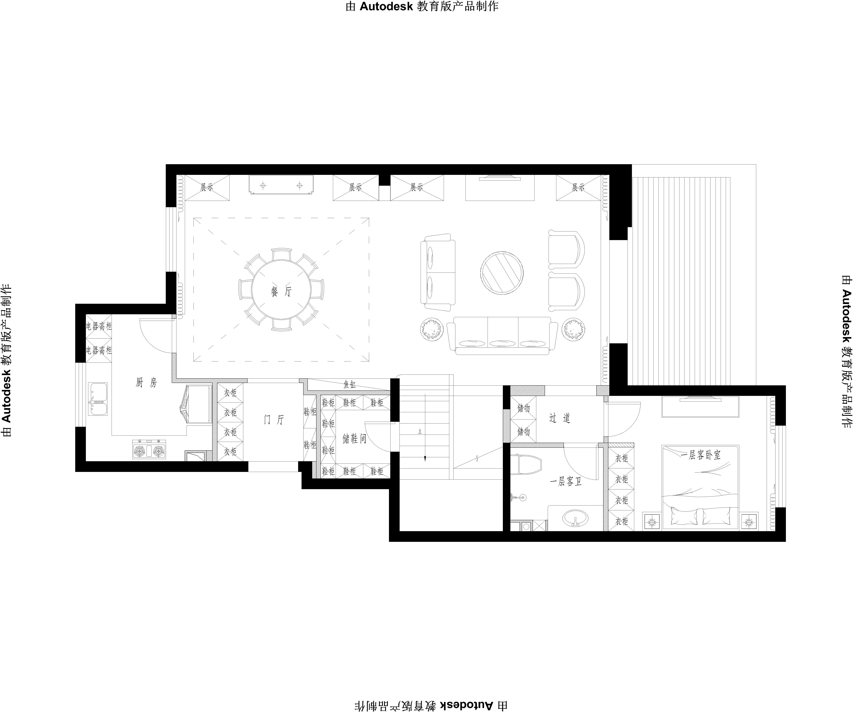 千章墅 現代中式 260㎡裝修設計理念
