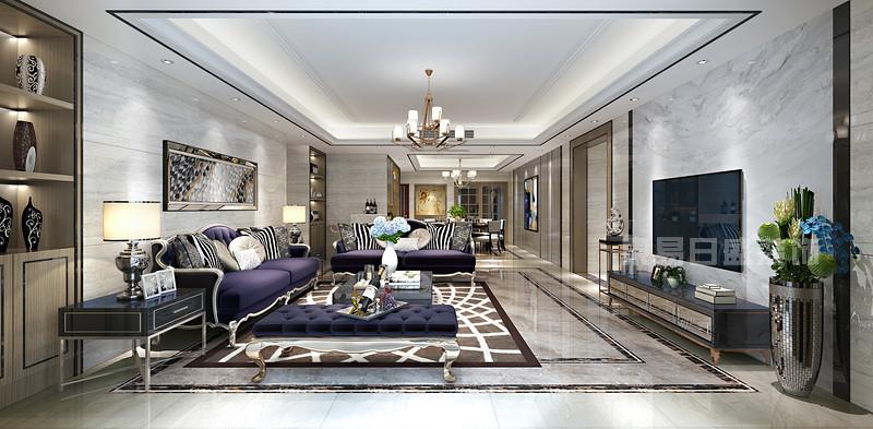 金地九珑壁现代简约客厅装修效果图.jpg