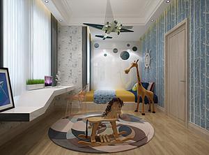 儿童房装修选择风格和材料呢?