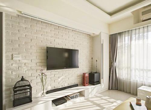 简约电视背景墙设计方法和注意事项