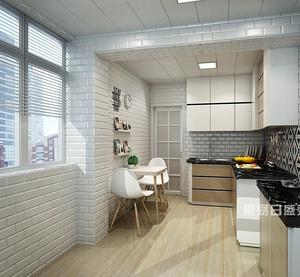 嵌入式厨房如何实现?从高收纳橱柜到造型设备,厉害了东易!