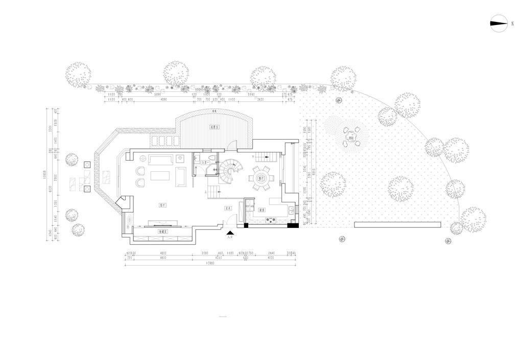国际豪庭200平跃层现代简约风格设计装修效果图装修设计理念