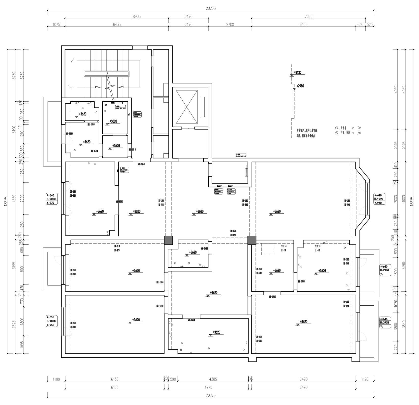 泰安道-高级灰-350平米装修设计理念