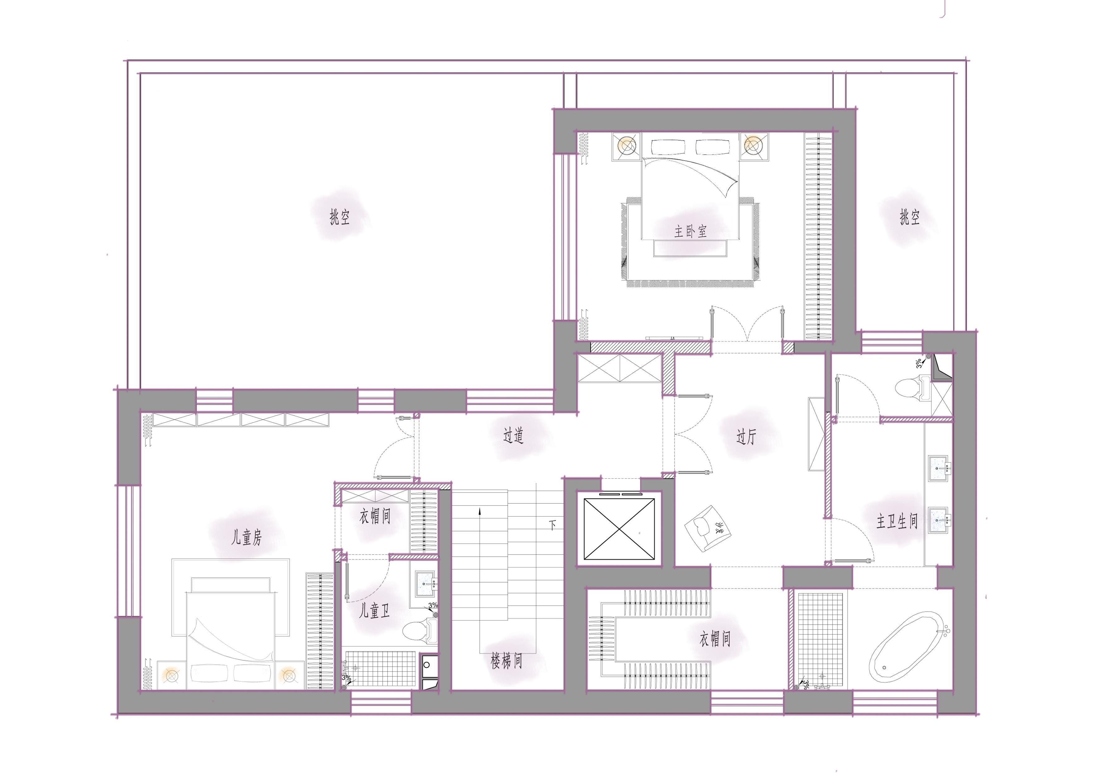 中糧瑞府-800平米-800平米-裝修效果圖裝修設計理念