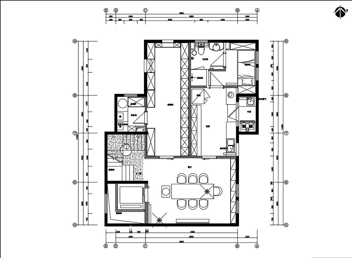 吉晟别墅 美式风格 368平米装修设计理念
