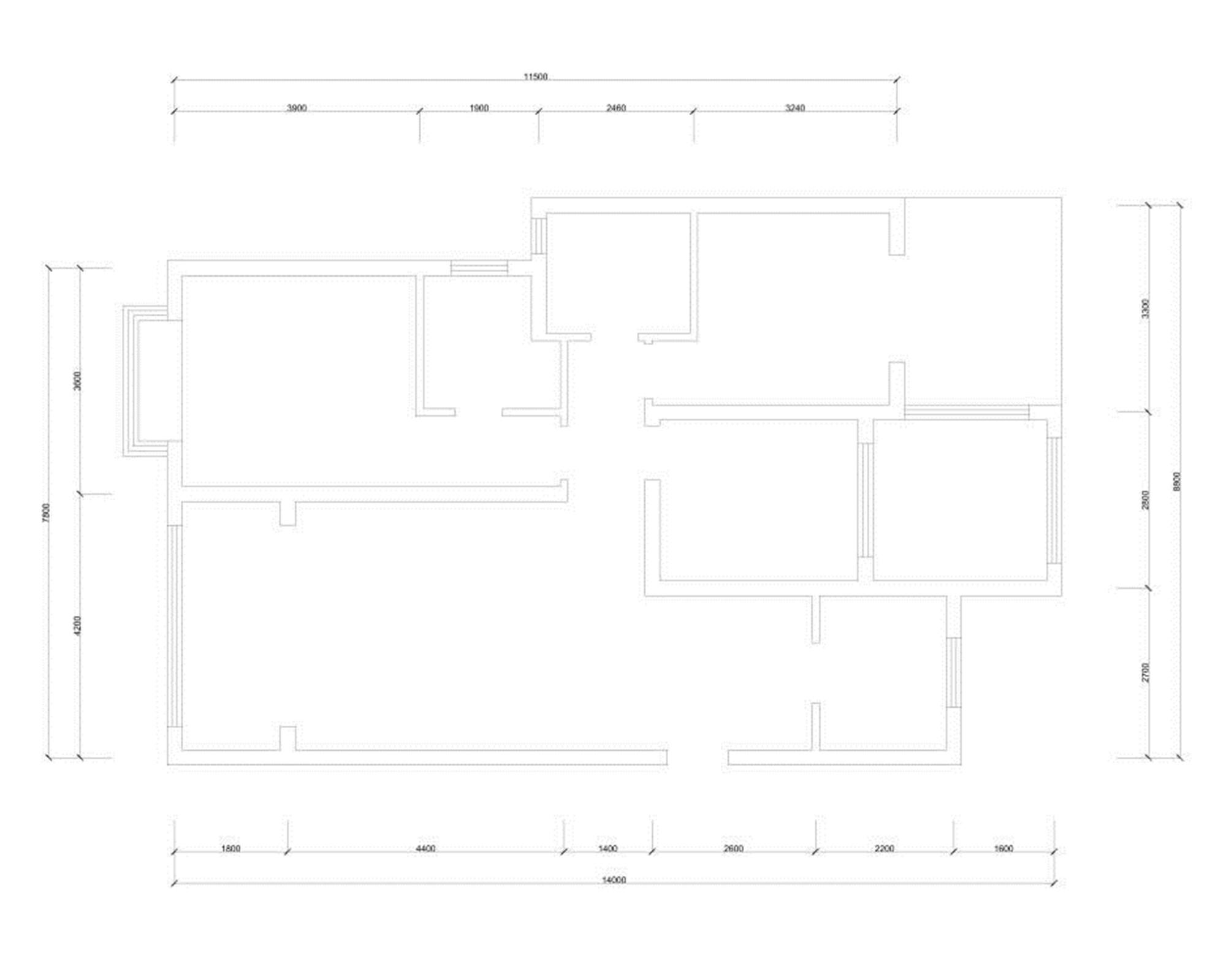 富立秦皇半岛-现代风格-140平米装修设计理念