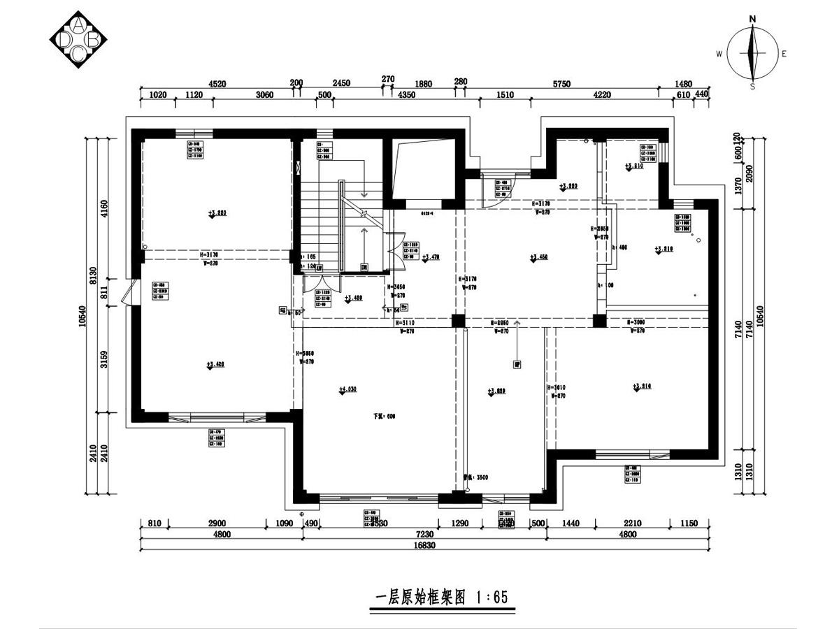 慈溪私宅现代前卫360平别墅装修设计理念