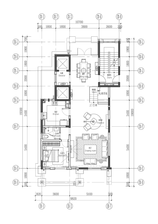中建大公馆 欧式风格装修效果图 288平米 别墅装饰设计 四房两厅装修设计理念