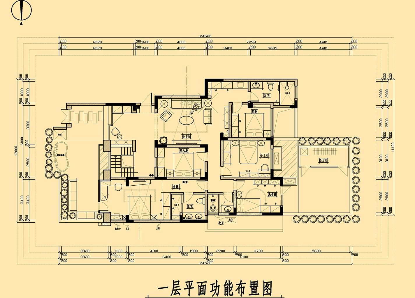 洋丰盛乔维斯+欧式装修风格+300平装修设计理念