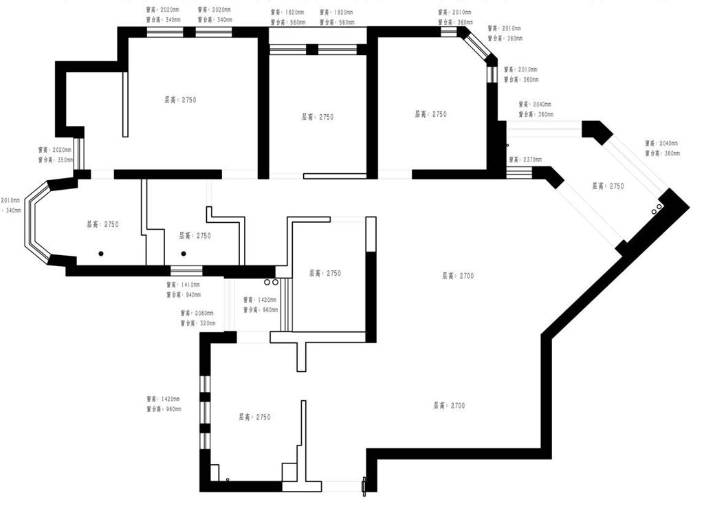 上海绿城美式风格145平三居室装修设计理念
