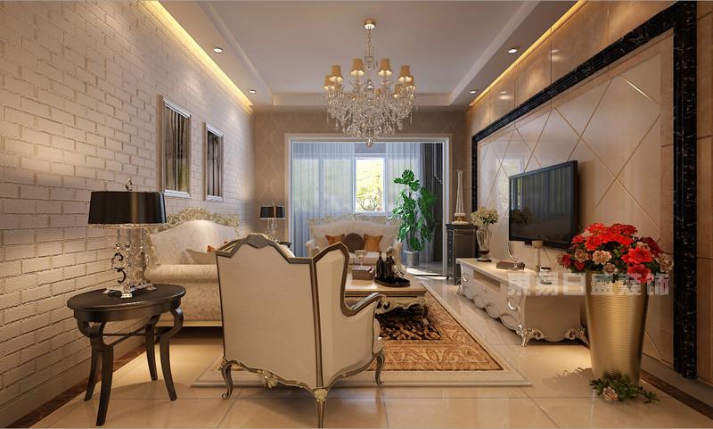 西安东易日盛 欧式古典风格家庭装修效果图图片