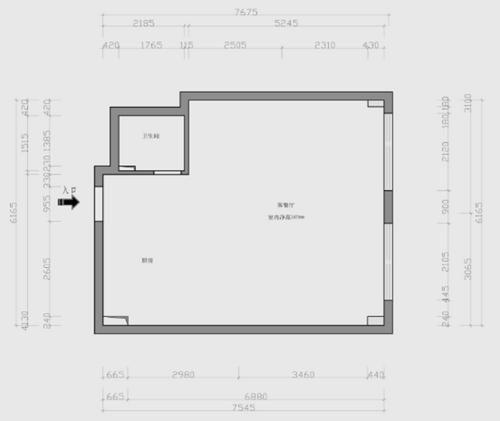 苹果社区-90平米-现代装修设计理念