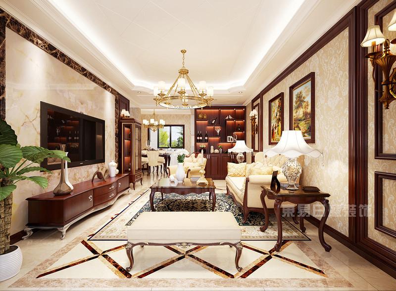 西安东易日盛 欧式古典风格家庭装修效果图