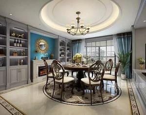 提升家居装修设计品味,圆桌餐厅装修尽显家居幸福感