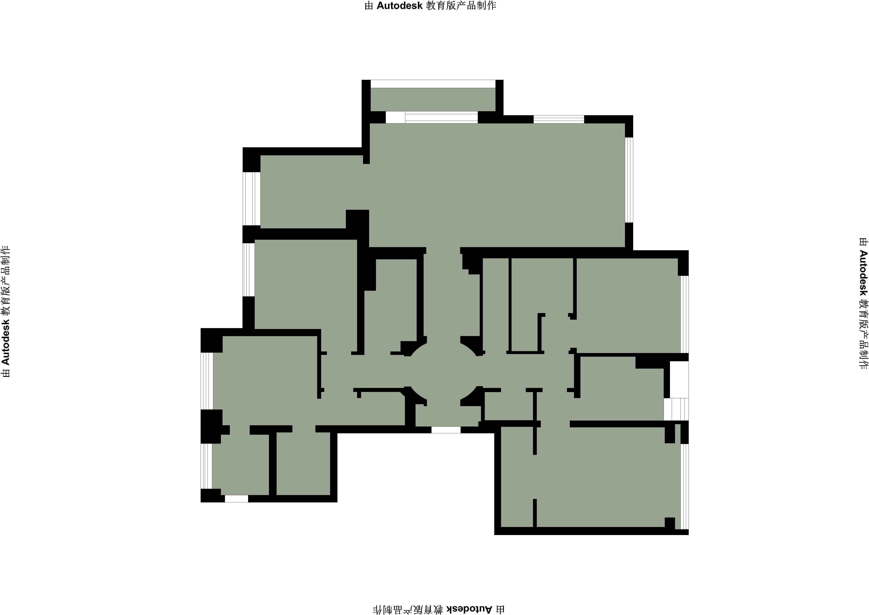 桃源里-法式-248平装修设计理念