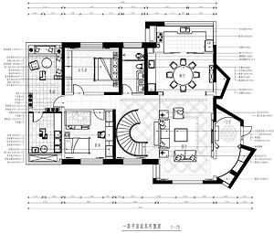 华润悦府别墅-法式宫廷-370平米户型