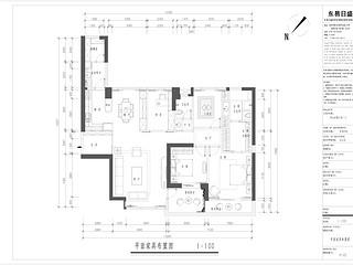 香山美墅云邸 美式田园休闲风格  185平方米户型图设计分析点评介绍