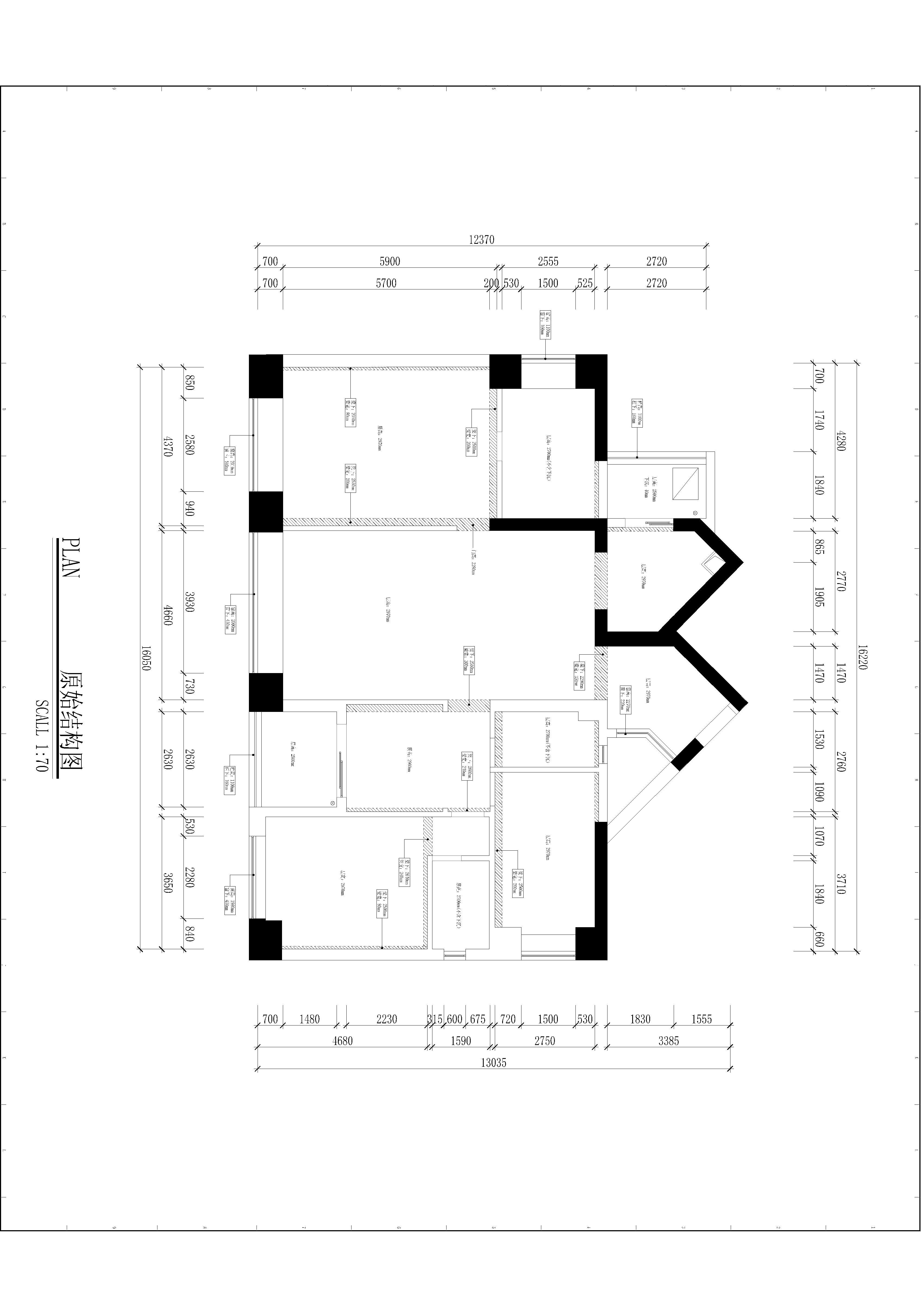 京基濱河時代-簡歐風格-187平米裝修效果圖裝修設計理念