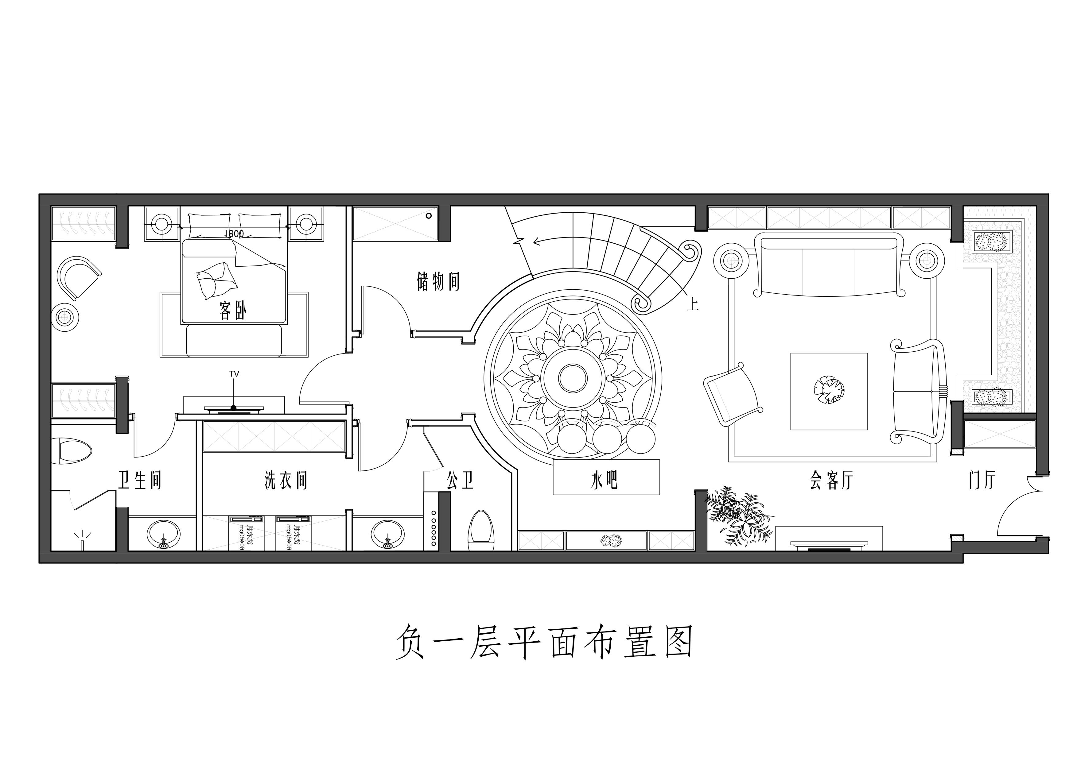 滟澜新宸-375平米-简欧装修设计理念
