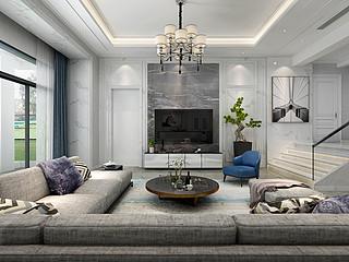 600㎡现代风格 独栋别墅装修设计