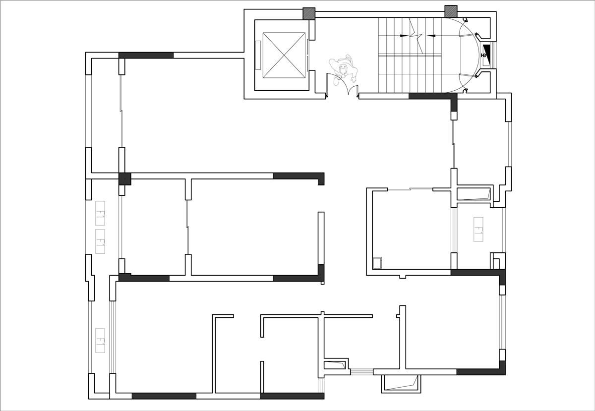 中冶玉翠园130平北欧风格装修效果装修设计理念
