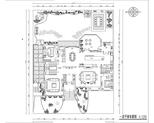 珠江壹千栋-800平米-北欧乡村装修设计理念