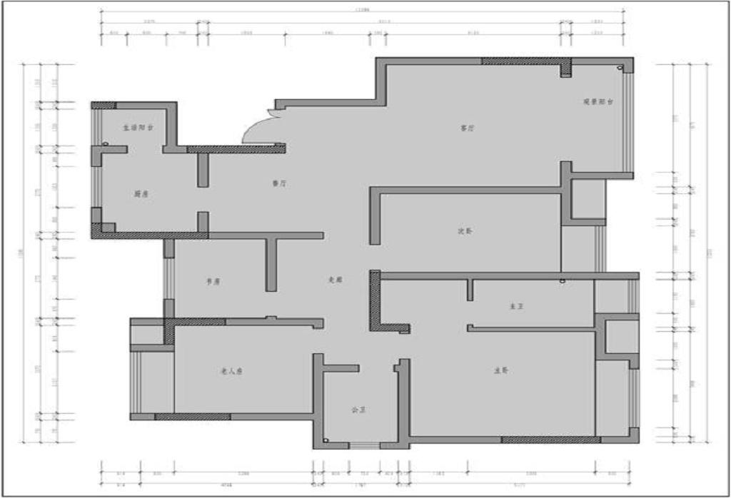 江山樾110 m²现代简约装修效果图装修设计理念
