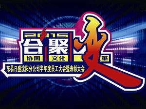 2015合聚变/东易日盛沈阳分公司半年度员工大会暨表彰大会