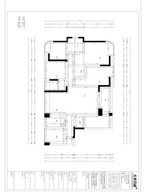 勤城达二期 现代简约风格装修 89平米三居室