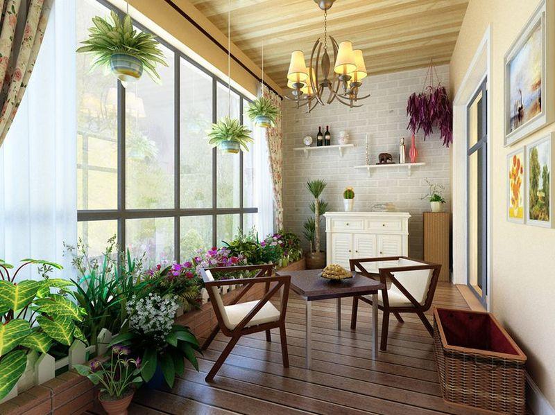 杭州阳台花园的装饰设计 排水管得安好!