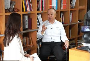 东易日盛集团董事长专访:装饰美好空间 筑就幸福生活