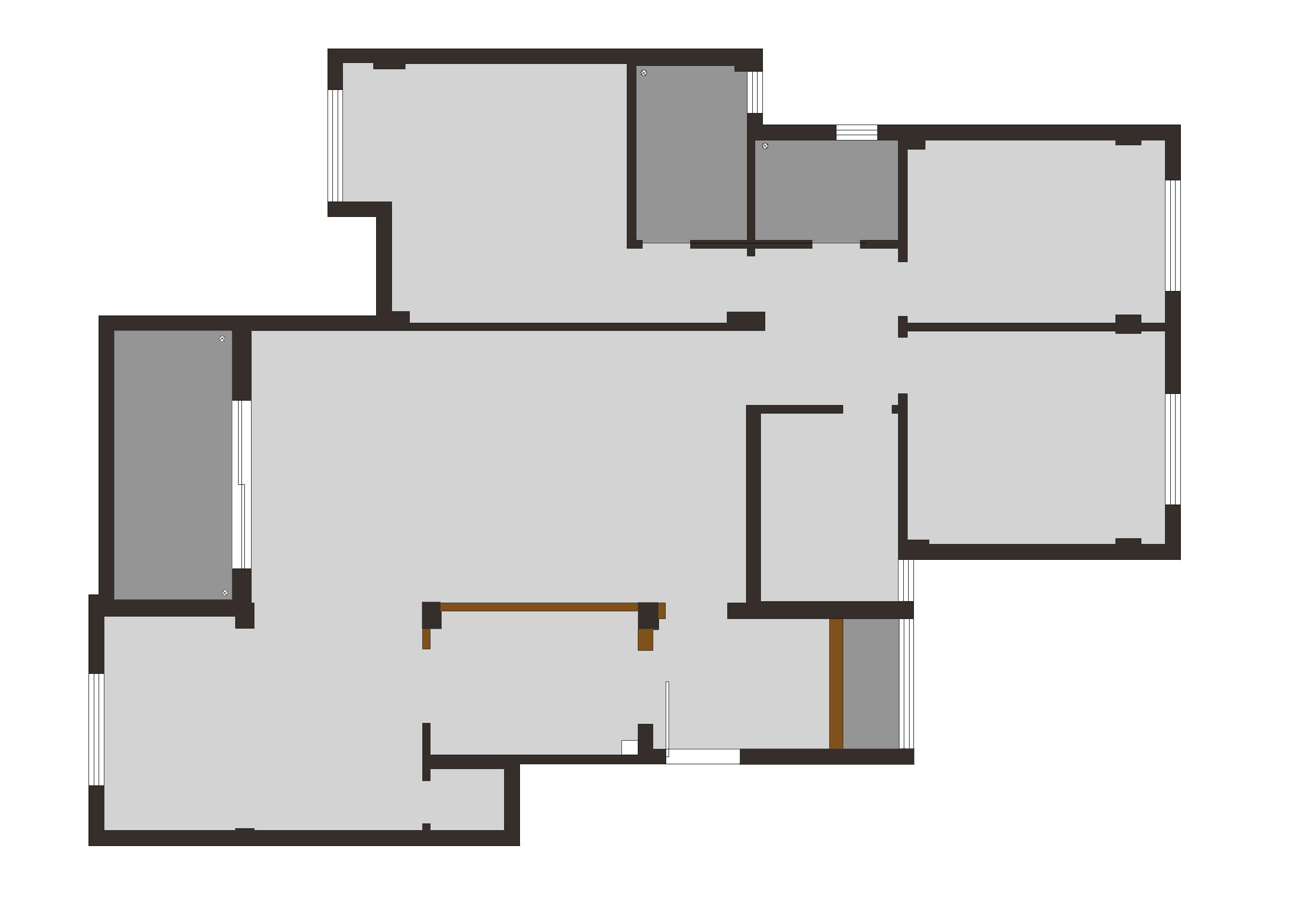 大华南湖公园世家160平米新中式风格装修效果图装修设计理念