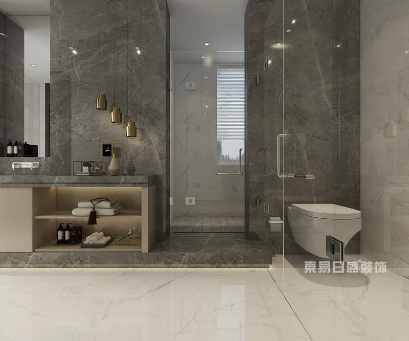 卫生间瓷砖什么颜色好看最流行的卫生间装修效果图