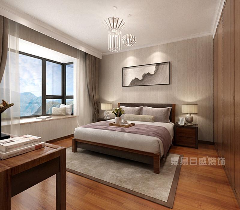 卧室_南海玫瑰园120平米-现代简约