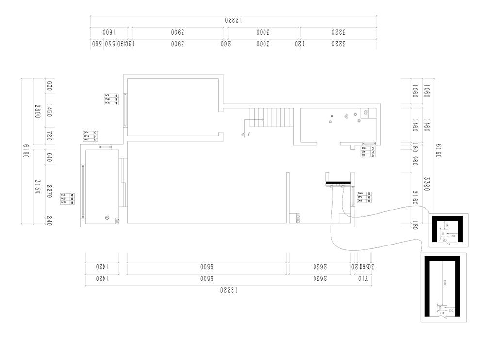 华著中城 现代轻奢装修效果图 四居室 142㎡装修设计理念